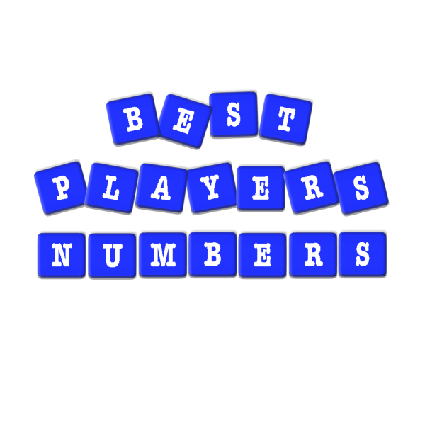 Best Players Numbers - Letters and Numbers Countdown